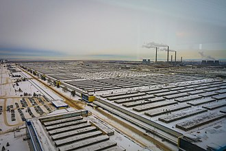 AvtoVAZ - The AvtoVAZ production complex in Tolyatti – December 2014
