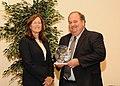 Award for Conservation Partners Larry Reynolds, LDWF (10592847744).jpg