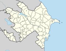 Xankəndi Azərbaycan xəritəsində