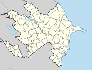 Xocalı Azərbaycan xəritəsində