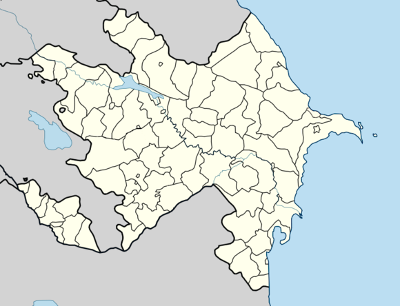 Wiki Loves Monuments 2016 in Azerbaijan is located in Azerbaijan