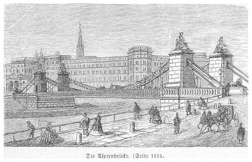 BERMANN(1880) p1187 Die Aspernbrücke