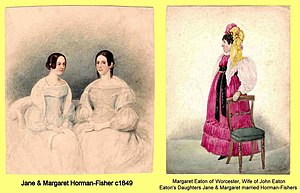 Bentworth Hall - Horman-Fisher wives