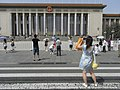 BJ 北京 Beijing 天安門廣場 Tiananmen Square 072 人民大會堂 Great Hall of the People visitors hot Summer Aug-2010.JPG