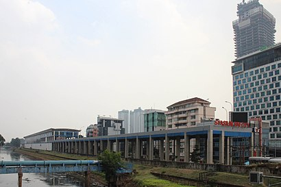 How To Get To Stasiun Sudirman Baru In Jakarta Pusat By Bus Or Train Moovit