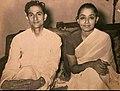 BP Koirala with wife Sushila.jpg