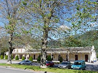 Bagnères-de-Luchon - The railway station