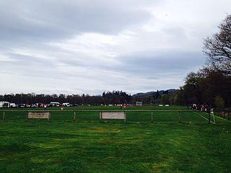 Lovat Shinty Club - Balgate, home ground of Lovat