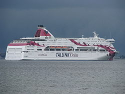 Die Baltic Princess vor Tallinn