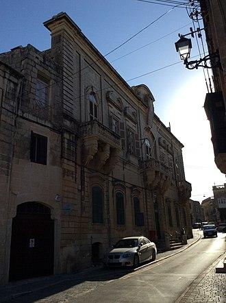 Auberge d'Auvergne - Palazzo Testaferrata, Balzan