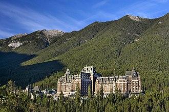 Banff Springs Hotel - Image: Banff Spring Hotel Alberta Kim Payant 04