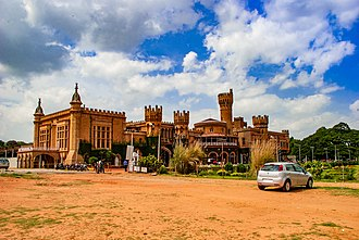 Bangalore Palace - The sprawling grounds surrounding the Palace is used for holding public events including music concerts