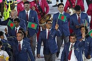 Bangladesh at the 2016 Summer Olympics - Bangladesh at the 2016 Summer Olympics opening ceremony.