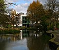 Bangor Library and Ward Park - geograph.org.uk - 1243446.jpg