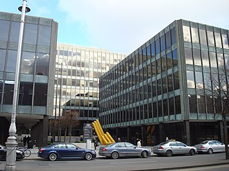 Bank of Ireland - Former Headquarters on Lower Baggot Street until 2010
