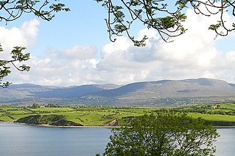 Whiddy Island - Whiddy Island seen from the south shore of Bantry Bay
