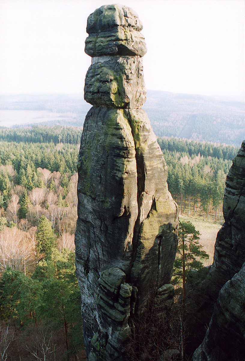 Saxon Switzerland climbing region