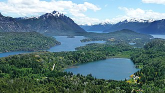 Geography of Argentina - Image: Bariloche view