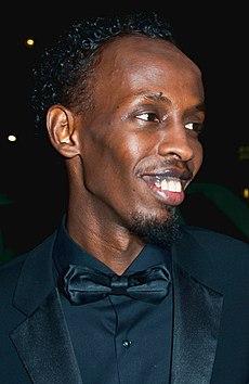 Barkhad Abdi, 2014.