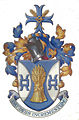 Barnaby Miln's personal English Coat of Arms (College of Arms, London).jpg