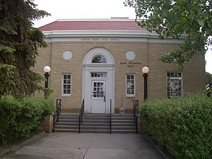 Big Horn County, Wyoming - Image: Basin wy post office