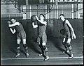 Basketball players at the University of Washington, 1918 (MOHAI 5975).jpg