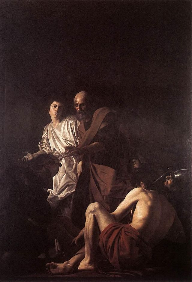 the denial of st peter rembrandt