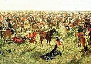 Battle of Sarandí - Image: Battle of Sarandi, Juan Manuel Blanes