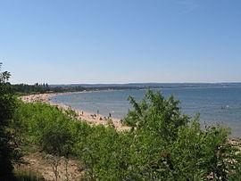 Гданська затока відома своїми пляжами
