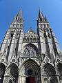 Bayeux (14) Cathédrale Façade ouest 01.JPG