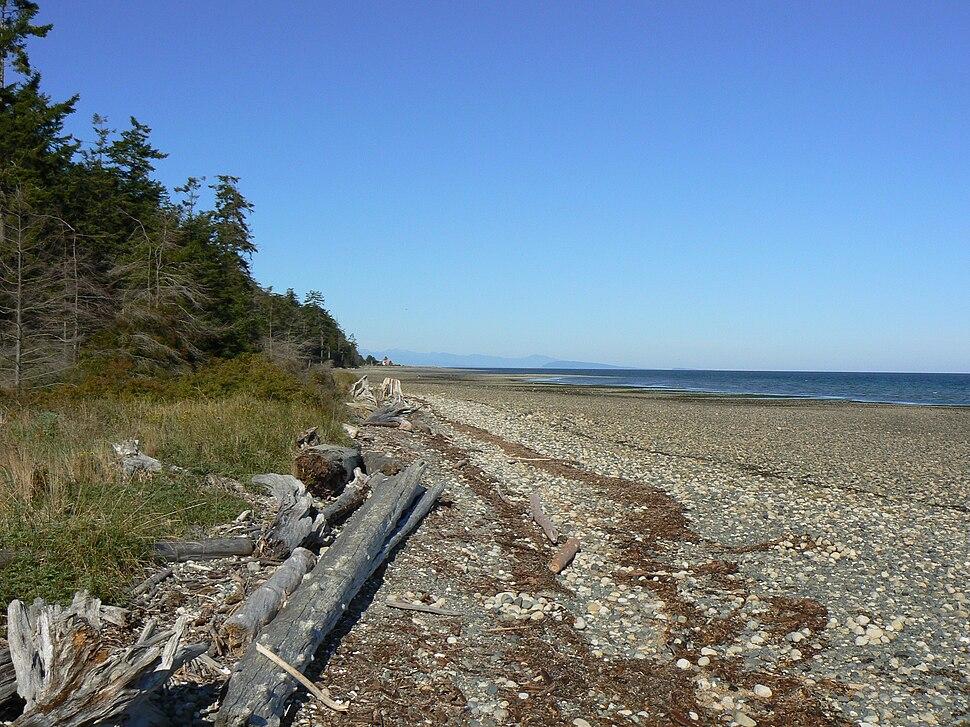 Beach at Rathtrevor Provincial Park