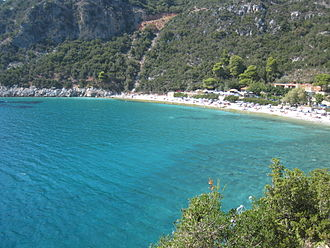 Mamma Mia! (film) - The movie was filmed in the Greek island of Skopelos