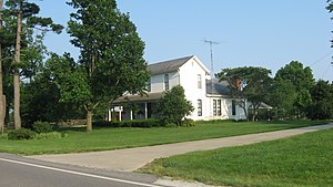 National Register of Historic Places listings in Jackson County, Indiana - Image: Beatty Trimpe Farmhouse