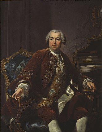 Nicolas Beaujon - Nicolas Beaujon by Louis-Michel van Loo