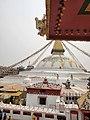 Beautiful Boudhanath ( boudha stupa ) on the lap of Himalayas. 03.jpg