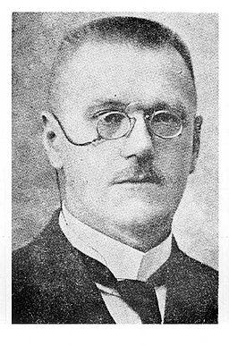 Bedřich Hrozný v 20. letech