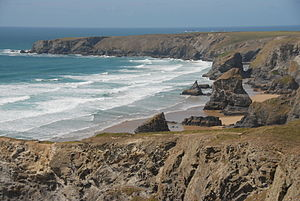 Carnewas and Bedruthan Steps - The Bedruthan Steps