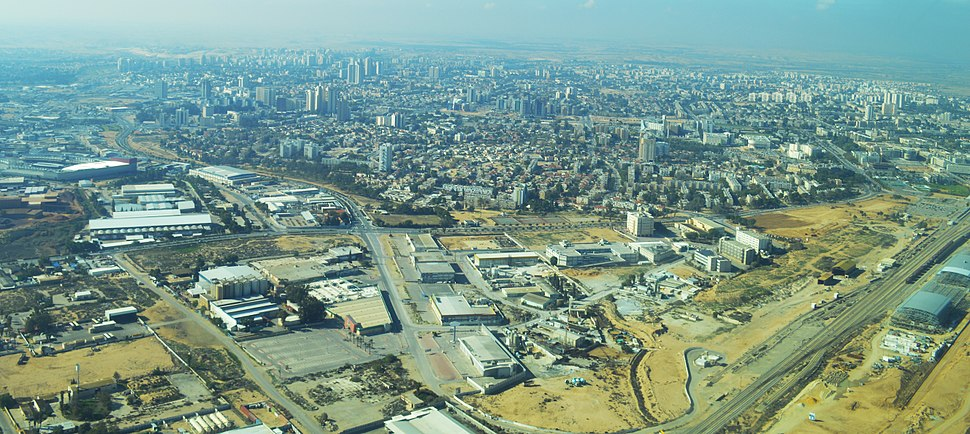 Beer Sheva Aerial View