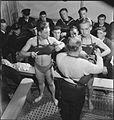 Belgian Sailors at a Skegness Training Camp- Belgian Naval Training at Butlin's, Skegness, Lincolnshire, England, UK, 1945 D24896.jpg