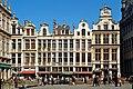 Belgique - Bruxelles - Grand-Place - Côté nord-est.jpg