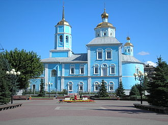 Belgorod Oblast - Smolensky church in Belgorod