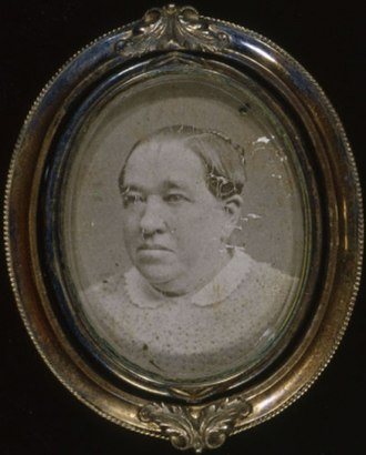 Margaret Haughery - Photoportrait in her latter years