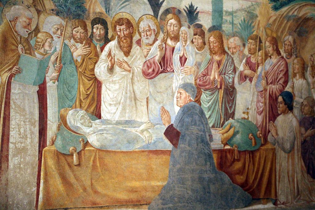 Benozzo gozzoli, Tabernacolo della madonna della tosse, 1484, 09.2
