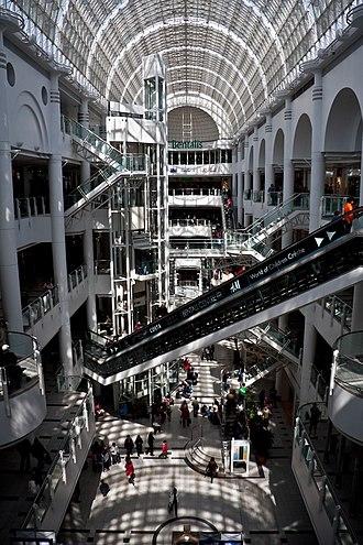 Bentall Centre, Kingston - Image: Bentalls Shopping Centre interior