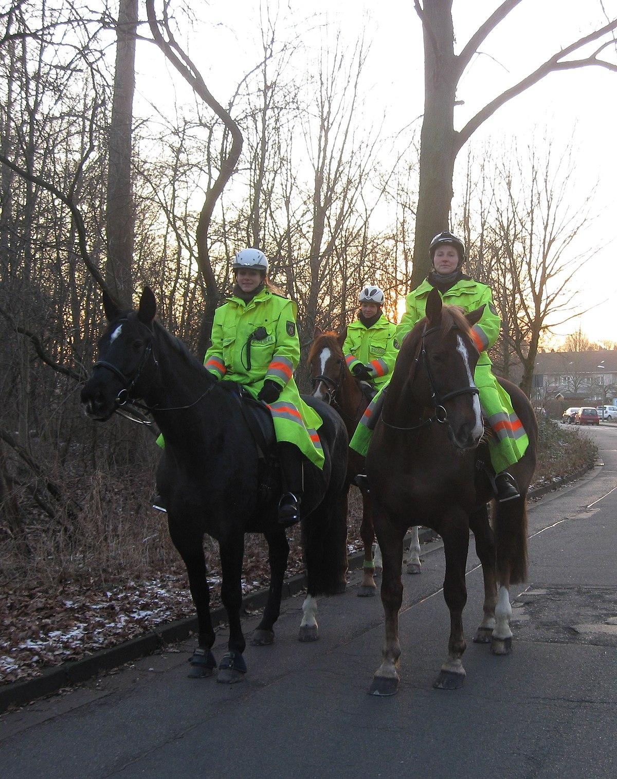 Pferde Polizei