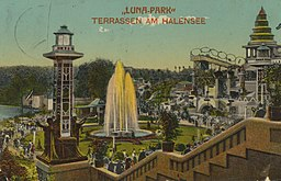 Lunapark, Paul Kaufmann, Wilmersdorf-Berlin [Public domain], via Wikimedia Commons