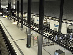 Berlin - U-Bahnhof Hauptbahnhof der U55 (6247732939).jpg