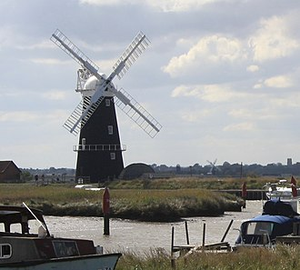 Berney Arms Windmill - Image: Berney Arms Windmill