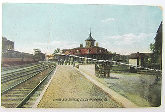 Bethlehem Union Station - Bethlehem Union Depot in 1909