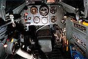Bf 109G-10 cockpit 070703-F-1234S-001